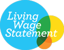 Proud to be a Living Wage Employer