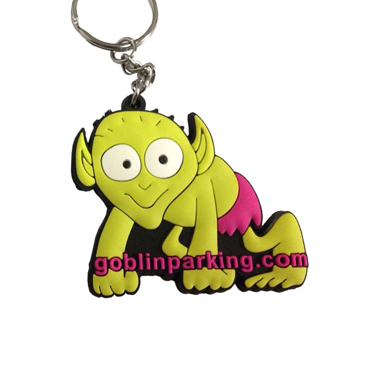Custom PVC Keyring - 3D Embossed