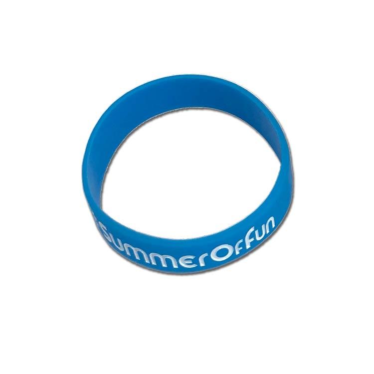 Child Custom Rubber Wristbands - Silicone Wristbands