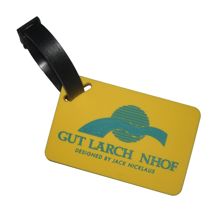 Custom Rubber Bag Tags