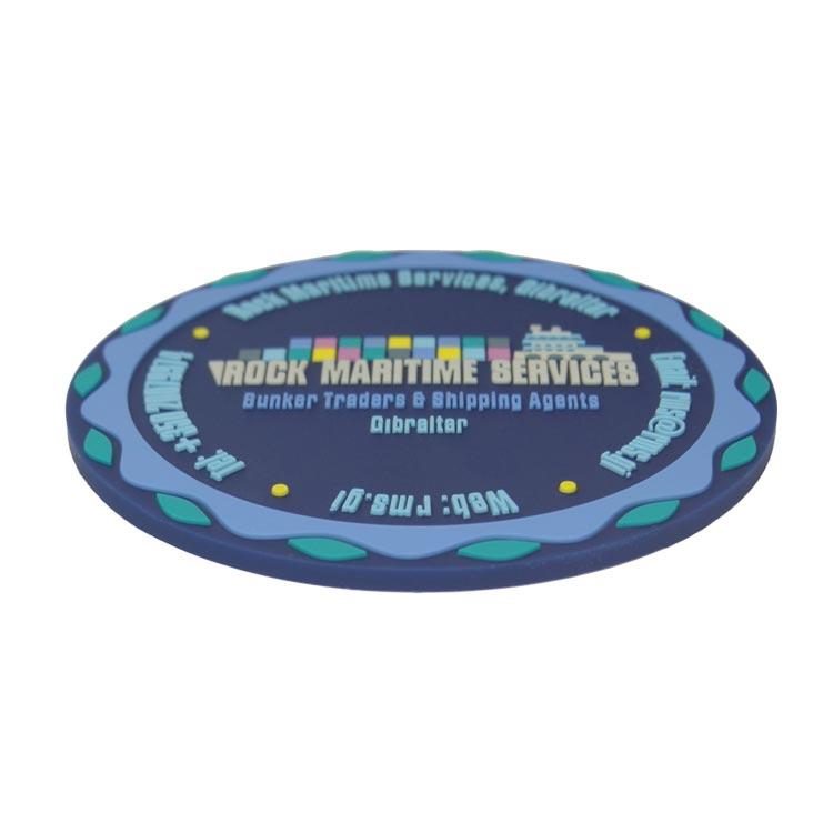 Custom Rubber Coasters