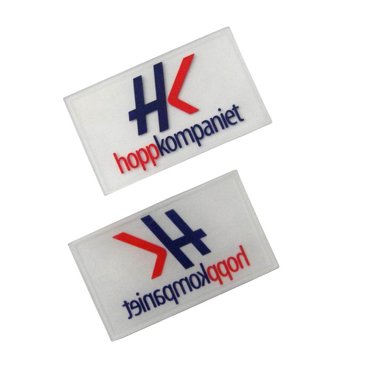 Branded PVC Labels - Rubber Product Labels