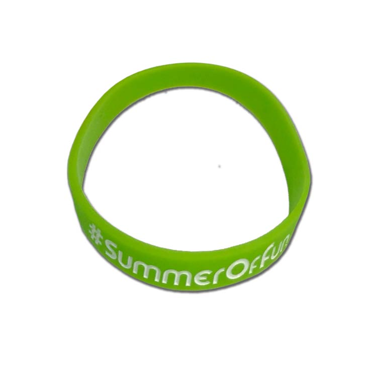 Adult Custom Rubber Wristbands - Silicone Wristbands