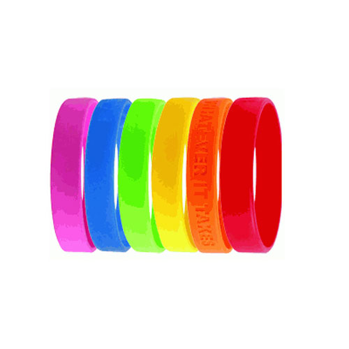 Customised Rubber Wristband - Silicone Wristband